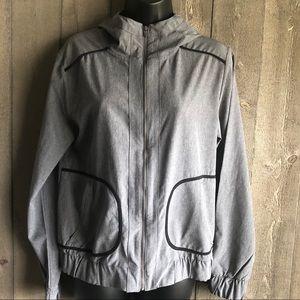 GapFit Lightweight Athletic Windbreaker Jacket